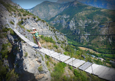 Via ferrata de Tende - Pont