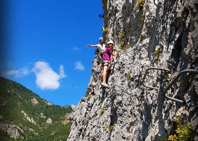 Via ferrata de Tende - Falaise